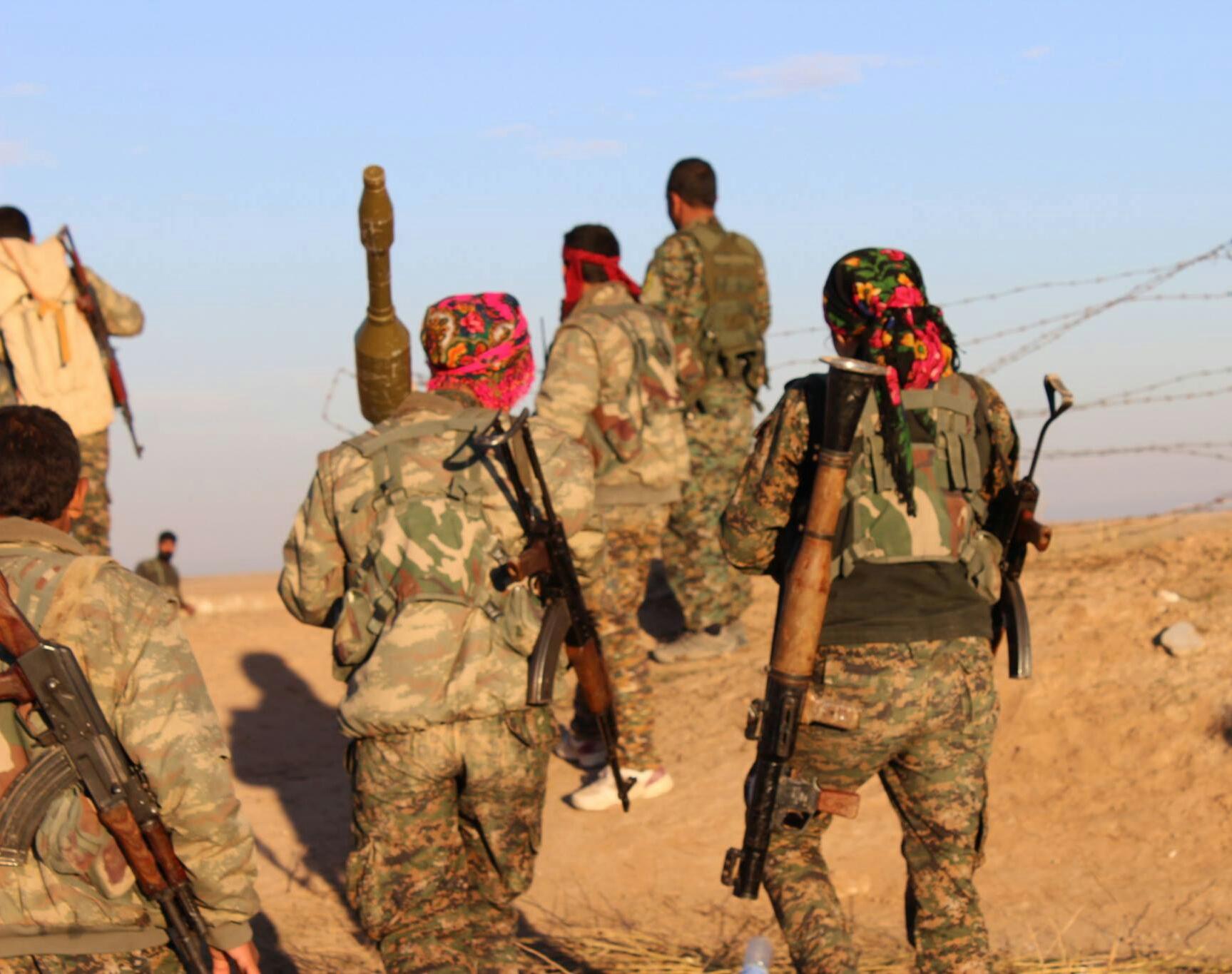 YPG تتصدى لهجمات المرتزقة على قرية بينه التابعة لناحية شيراوا