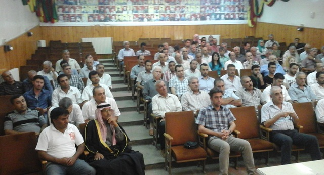 Photo of الـ PYD تعقد ندوة حوارية في كركي لكي