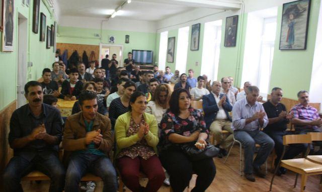 Photo of الـ PYD تقيم مراسيم العزاء للشهداء في فيينا