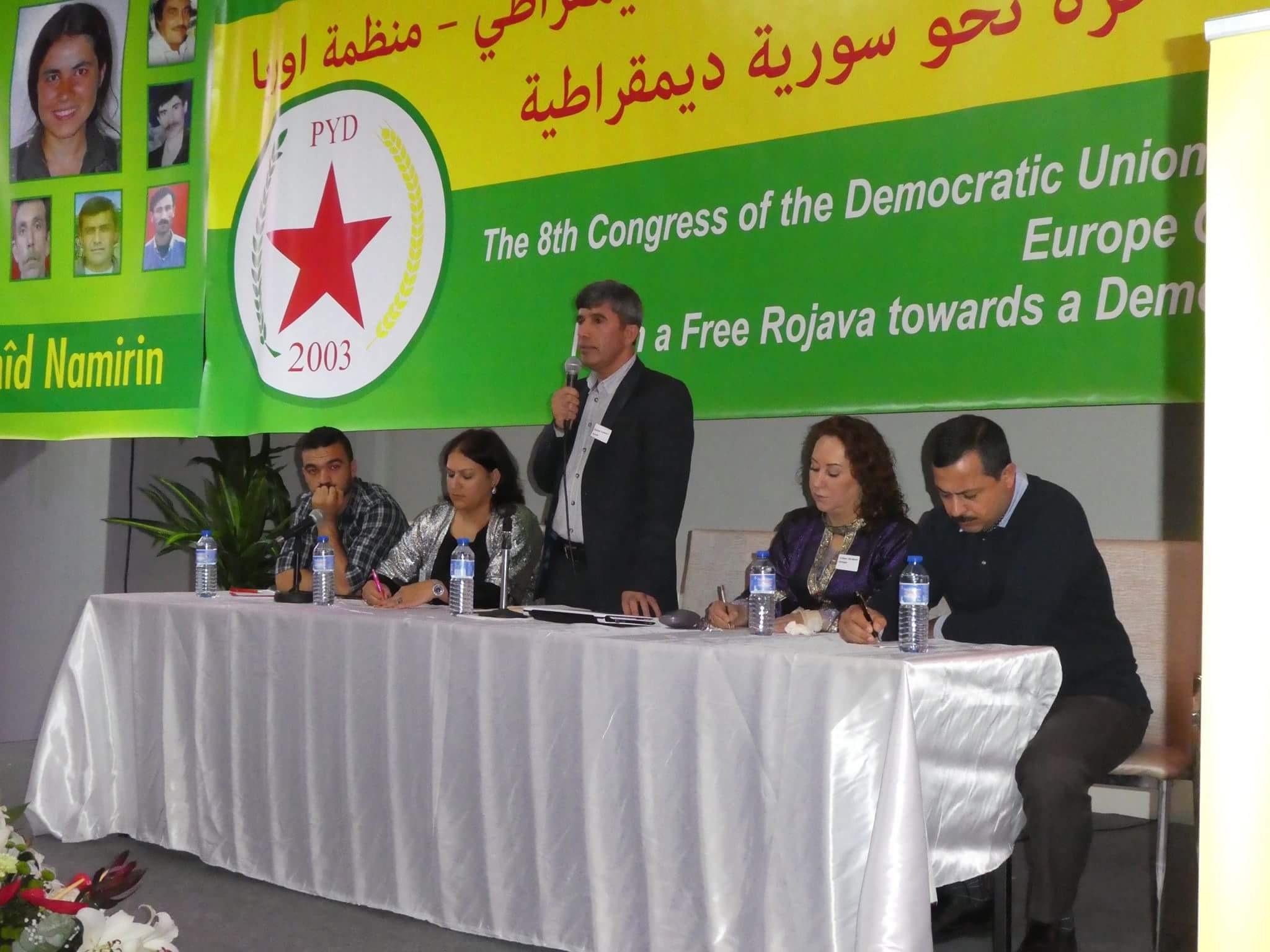 "Photo of البيان الختامي للمؤتمر الثامن ل PYD ""منظمة أوروبا"""