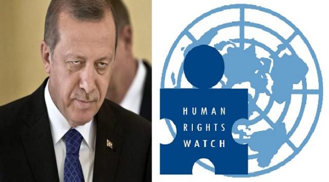 Photo of هيومن رايتس ووتش: تقرير مهم يفضح أردوغان