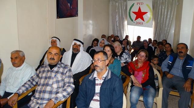 Photo of مكتب العلاقات الدبلوماسية في الـ PYD تعقد ندوة حوارية في عفرين
