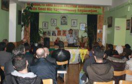 إجتماع حزب الإتحاد الديمقراطي pyd – منظمة أوروبا في فيينا