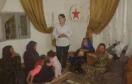 المرأة في الـ PYD تعقد اجتماعاً في قرية أم الكيف