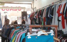 سوق الألبسة ما بين الحديث والبالي