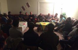 اجتماع منظمة حزب الاتحاد الديمقراظي pyd في فيستفولدا النرويجية