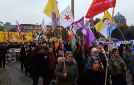 الـ PYD يشارك الأحزاب الكردية والألمانية في تنظمِ تظاهرةٍ بهامبورغ