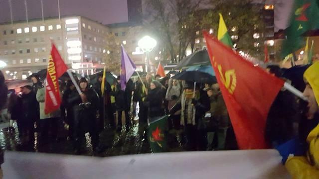 Photo of الـ PYD تشارك في يوم كوباني العالمي في السويد
