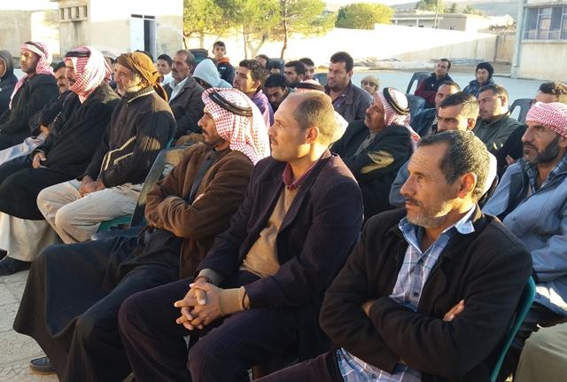 Photo of الـ PYD يعقد اجتماعاً في قرية كاني بيفازي