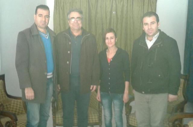 Photo of الـ PYD يزور مكتب حزب الخضر الكردستاني