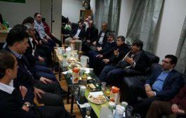 صالح مسلم يجتمع مع أحزاب ومنظمات كردستانية في أوسلو