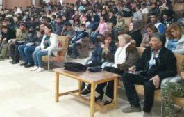 شبيبة الـ PYD تنظم احتفالية في مركز آرام ديكران