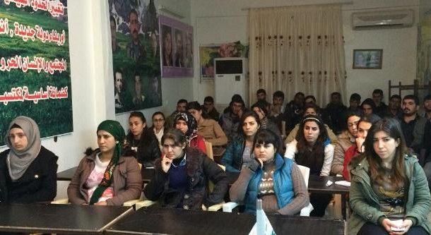 شبيبة الـ PYD يعقدون اجتماعاً للمجلس الإداري في مدينة الرميلان