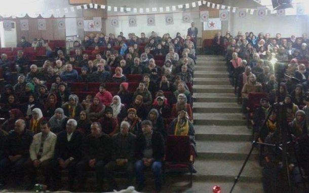 الـ PYD يستذكر الشهيدة شيلان كوباني ورفاقها في قامشلو