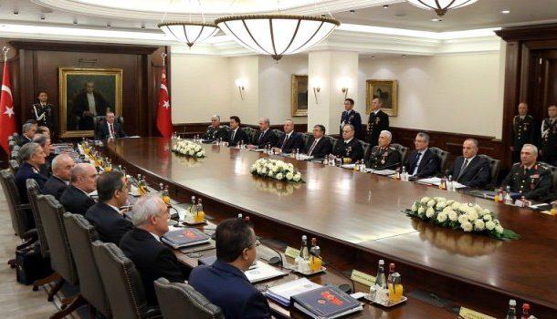 ثلاث قرارات ضد الـ PKK و PYD و YPG يتخذها مجلس الأمن القومي التركي
