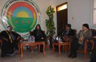 الـ PYD يزور الحاكمية المشتركة لمقاطعة الجزيرة