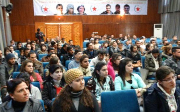 شبيبة الــ PYD يعقدون مؤتمرهم السنوي الثاني في عفرين