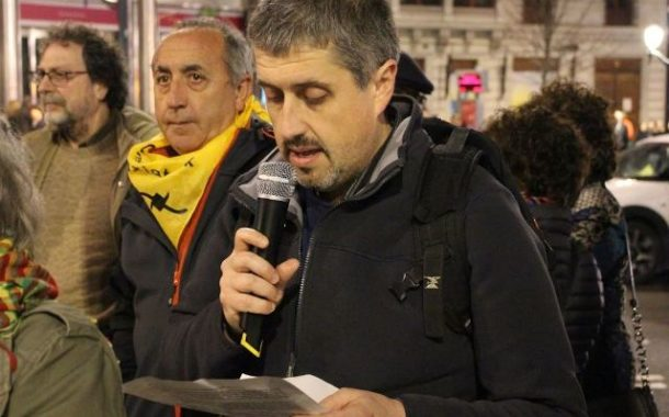 ناشطون اسبانيون وكرد في إقليم الباسك ينددون  بانتهاكات اردوغان