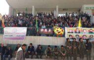 في قامشلو: مئات الكردستانيين يحيون شهداء انتفاضة 12 آذار