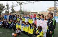 فريق ARTفي مباراة في نادي برخدان في مدينة عامودا