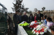 الـ PYD تزور ضريح محمد شيخو في ذكراه الـ28