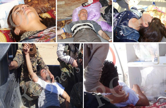 Photo of استشهاد و إصابة مواطنين مناهضين لهجمات الديمقراطي الكردستاني على  خانه صور