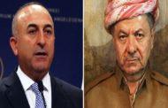 أوغلو: نحن مع وحدة العراق