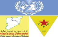 تقريرٌ أمميٌ يدحضُ الادعاءات السابقة حول قيام الـ YPG-QSD بممارسات تطهير عرقي أو تغيير ديموغرافي في مناطق سيطرتها