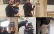استمرار حملات شبيبة الـ PYD في ترسيم صورة القائد