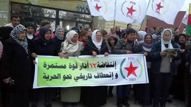Photo of سلسلة اجتماعات وتظاهرات في عفرين إحياءً لذكرى انتفاضة قامشلو