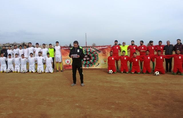 Photo of نادي برخدان الرياضي يستذكر شهداء 12 آذار