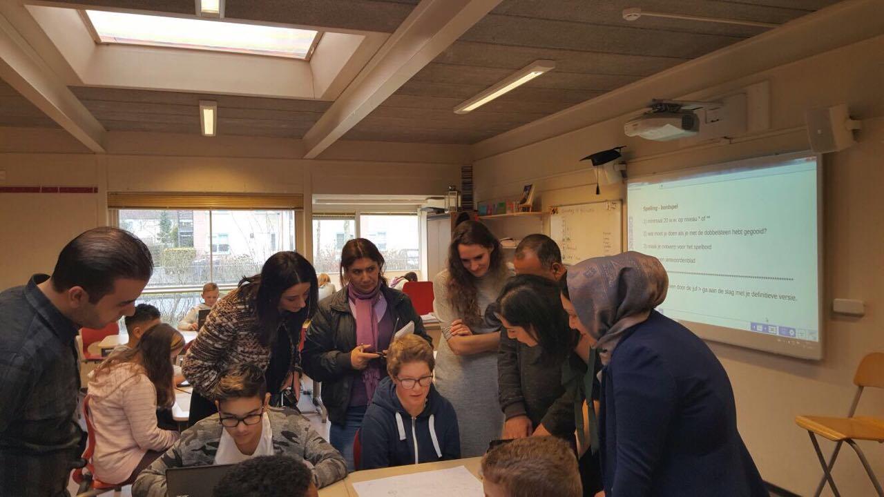 هيئة التربية والتعليم في هولندا لتبادل الخبرات