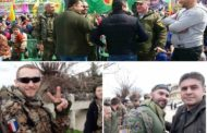 جنودٌ روس وفرنسيين وأمريكيين يشاركونَ  الكُردَ في عيدِ نوروز
