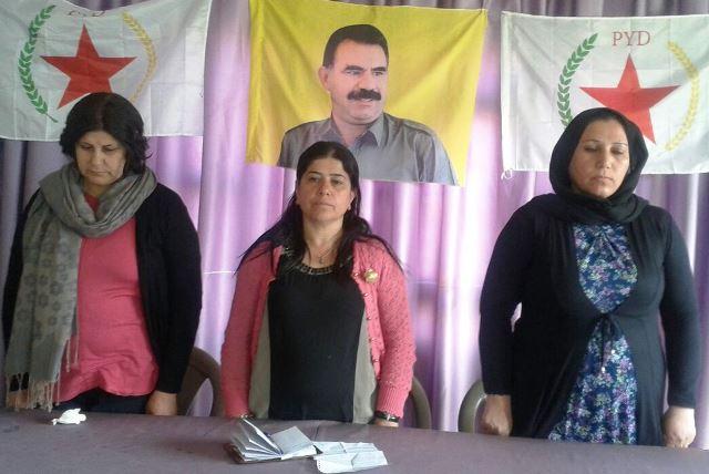 Photo of اجتماع المرأة في ديريك استذكاراً لميلاد القائد