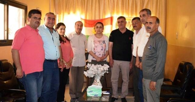 Photo of لجنة علاقات الـ PYD تزور الحزب الديمقراطي الكردي السوري