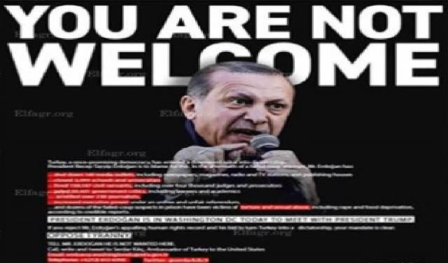 Photo of هيومن رايتس الأمريكية لاردوغان … لا مرحباً بكَ في أمريكا