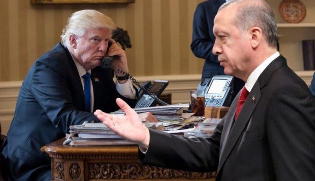 Photo of ترامب قبل لقائه مع أردوغان يتلقى ثلاث رسائل من الكونغرس