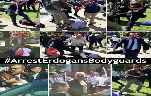 Photo of حراس اردوغان يهاجمون الكرد الامريكيين … وأمريكا تشكو