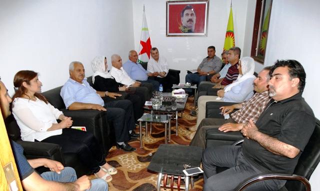 Photo of الأحزاب الكردية تعقد اجتماعاً مرحلياً في عفرين
