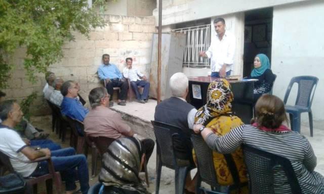 Photo of الـPYD يعقد اجتماعاً لأهالي الصالحية في الحسكة