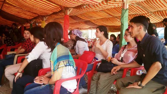Photo of شبيبة الـ PYD يشاركون في مؤتمر الشبيبة الأيزيدية