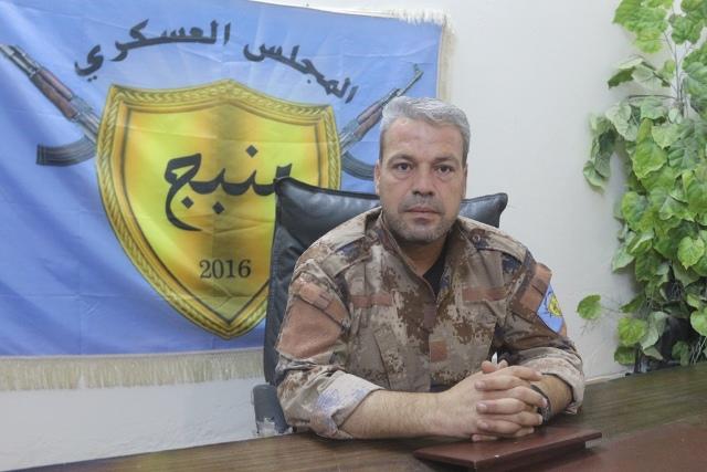 Photo of برقية عزاء  بخصوص استشهاد قائد مجلس منبج العسكري عدنان أبو أمجد