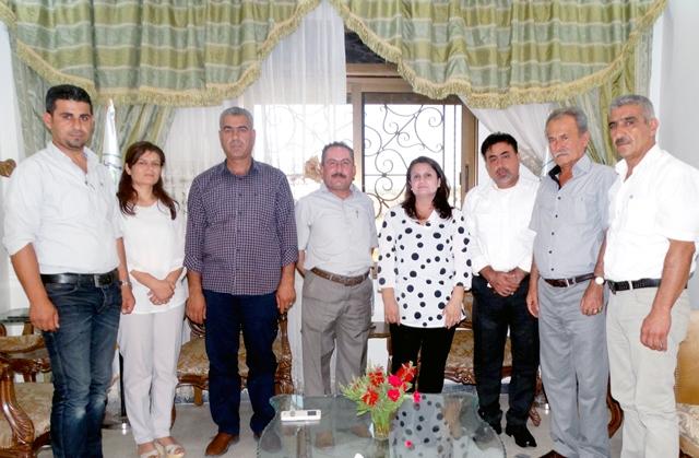 Photo of مكتب العلاقات الدبلوماسية في PYD يزور مكتب مسد في عفرين والشهباء
