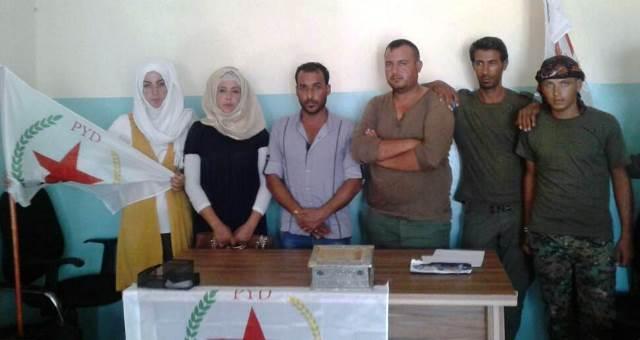 Photo of زيارات شبيبة الـ PYD لمؤسسات الإدارة الذاتية في العريشة