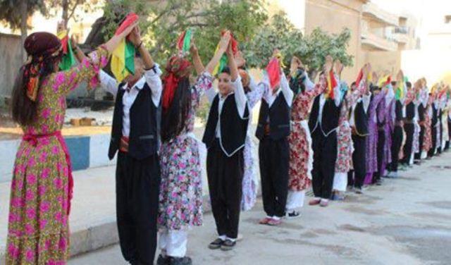 Photo of تخريج دورة تدريبية للرقص الفلكلوري في عفرين