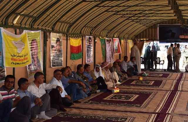 Photo of اجتماعٌ لعشائر مقاطعة تل أبيض دعماً للفيدرالية