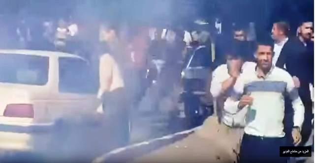 Photo of رصاصٌ حي وقنابلُ مسيلة للدموع؛ واجه بها النظام الايراني مظاهرات الكرد