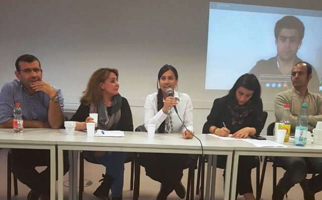 Photo of أكاديمية روزا لوكسمبورغ: تقيم ندوة حوارية حول دور المرأة في  ثورة روج آفا