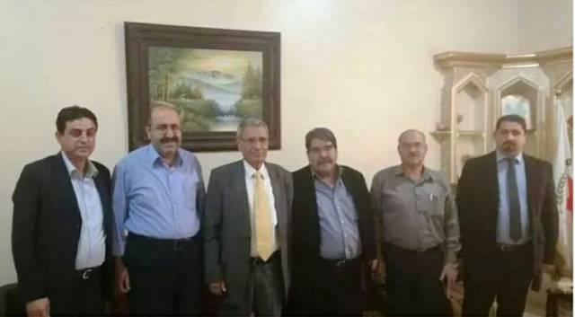 Photo of زيارة التحالف الوطني الكردي لمكتب الـ PYD