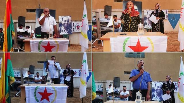 Photo of الـ PYD تحتفل مع أهالي زركان بيوم انتخابات الكومونات